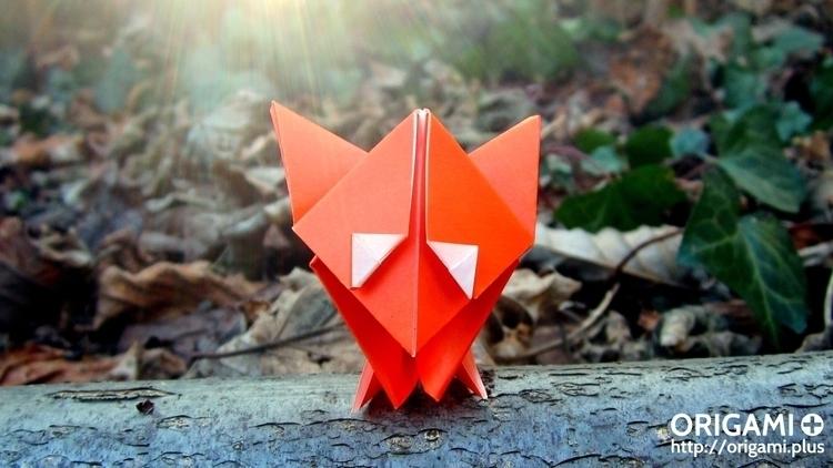 Hello! What origami fox I desig - origamiplus | ello