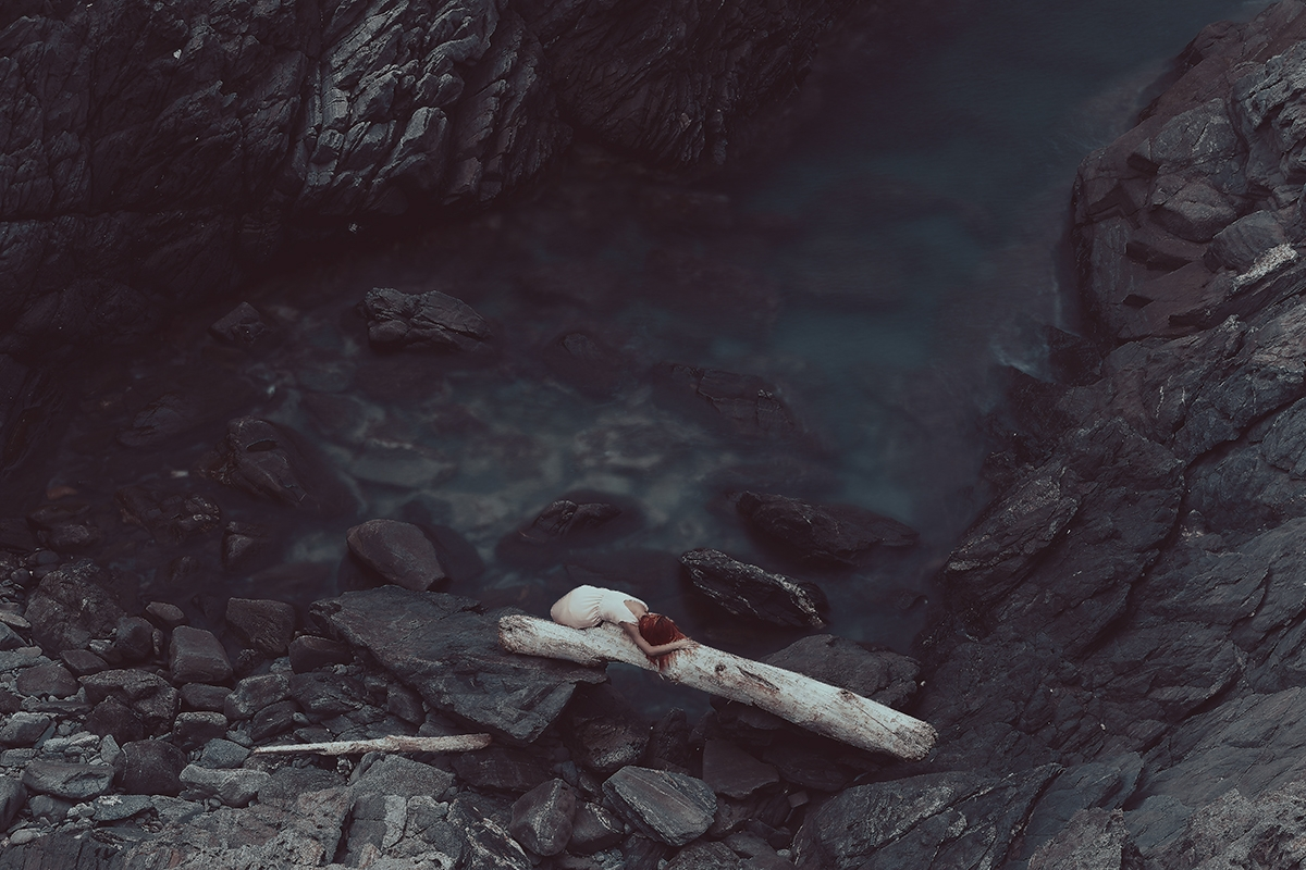 """Sea Sorrow"" — Photographer: Fa - darkbeautymag 