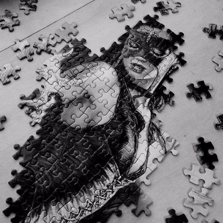 Un puzzle difficile da ricompor - giuseppefuser | ello