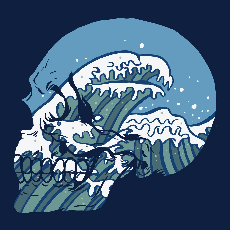 Brain Waves illustration Inner  - thomcat23 | ello