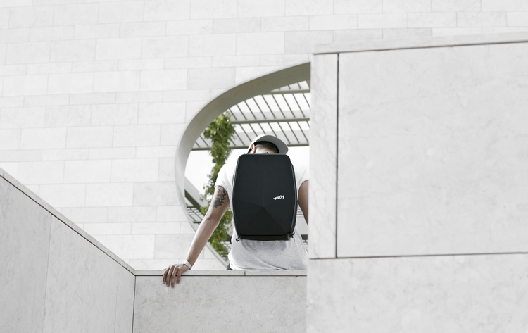 Vertty Stealth Backpack designe - vertty | ello
