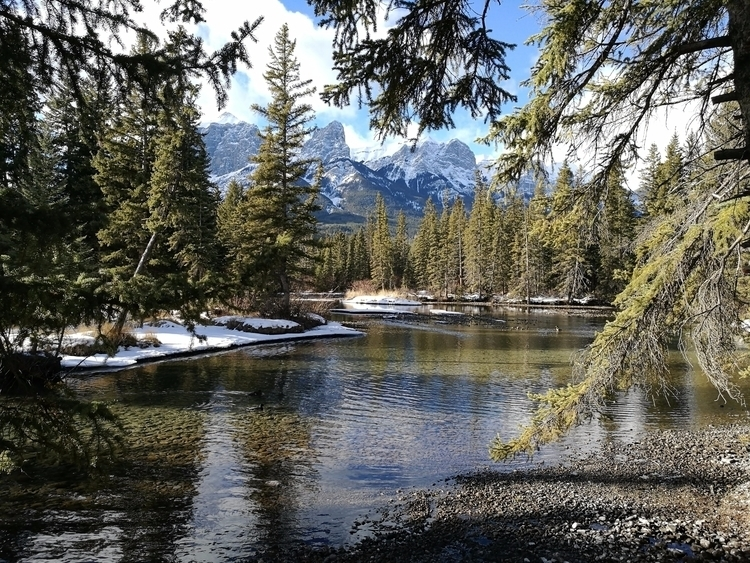 The natural beauty Canmore Cana - brentnicholls | ello