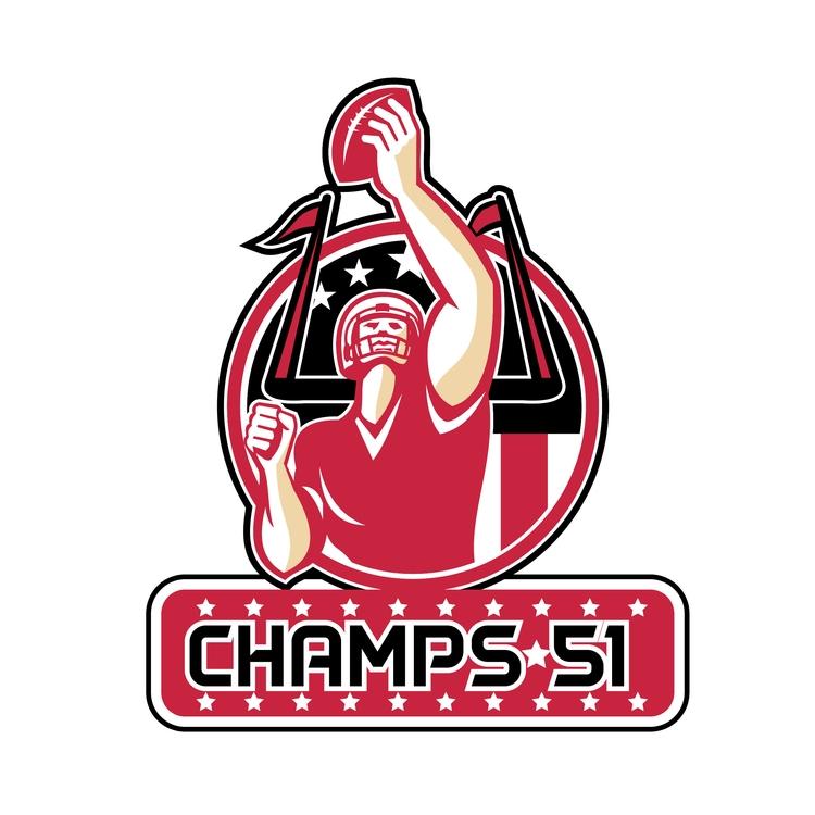 Football Champs 51 Atlanta Retr - patrimonio | ello