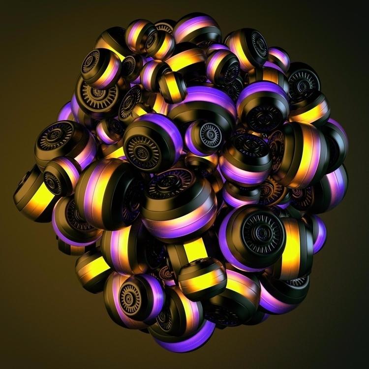 c4d photoshop 3D render 3Drende - juhernandez | ello