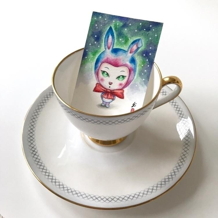 We tea party, invited! ☕️✨ Firs - carolinaseth | ello