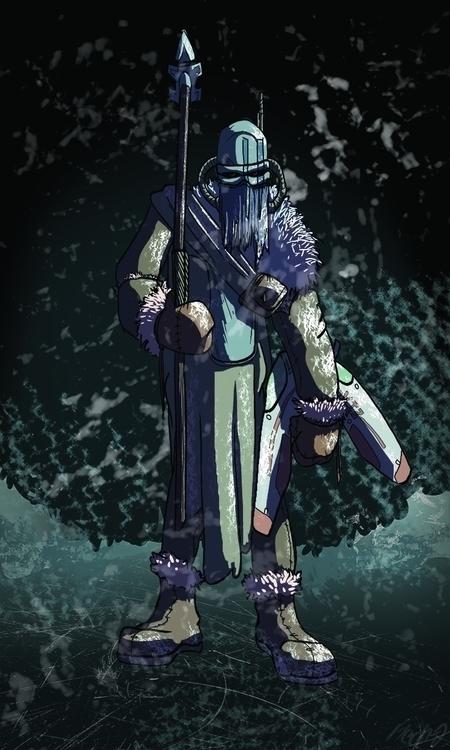 The Snow Hunter comic coming - mechamilk | ello
