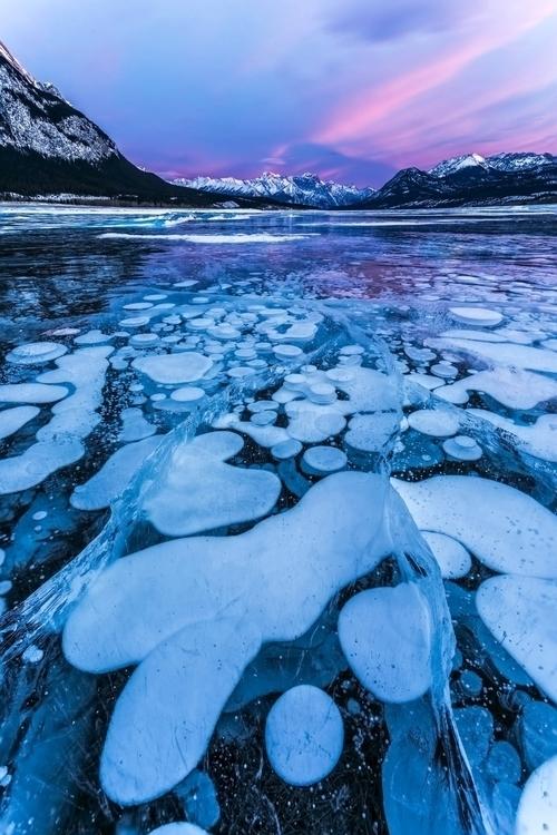 Frozen methane bubbles Point Ab - dougsandquist | ello