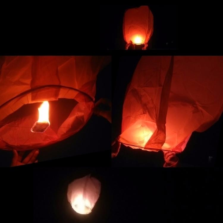Sky fire night hotballon conten - usman_riaz | ello
