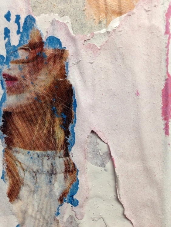 art collage print texture ElloA - jkalamarz | ello