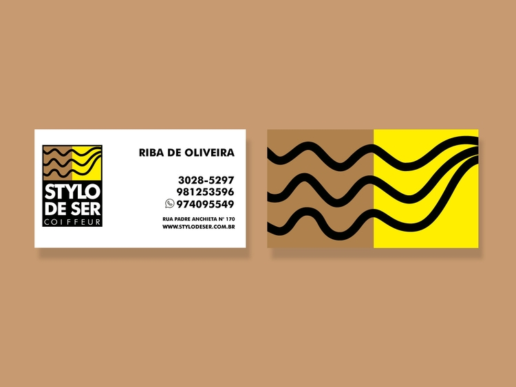 Business card Stylo de ser - co - sabiacriativo | ello
