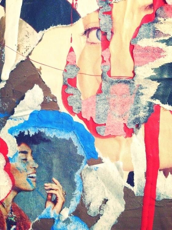 art print collage texture ElloA - jkalamarz | ello