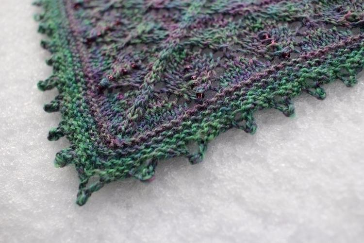 Details: textiles knitting shaw - aprilklich   ello
