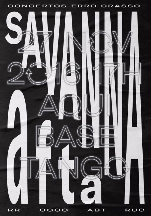 Poster Savanna & Afta, Nove - brunorodrigues | ello