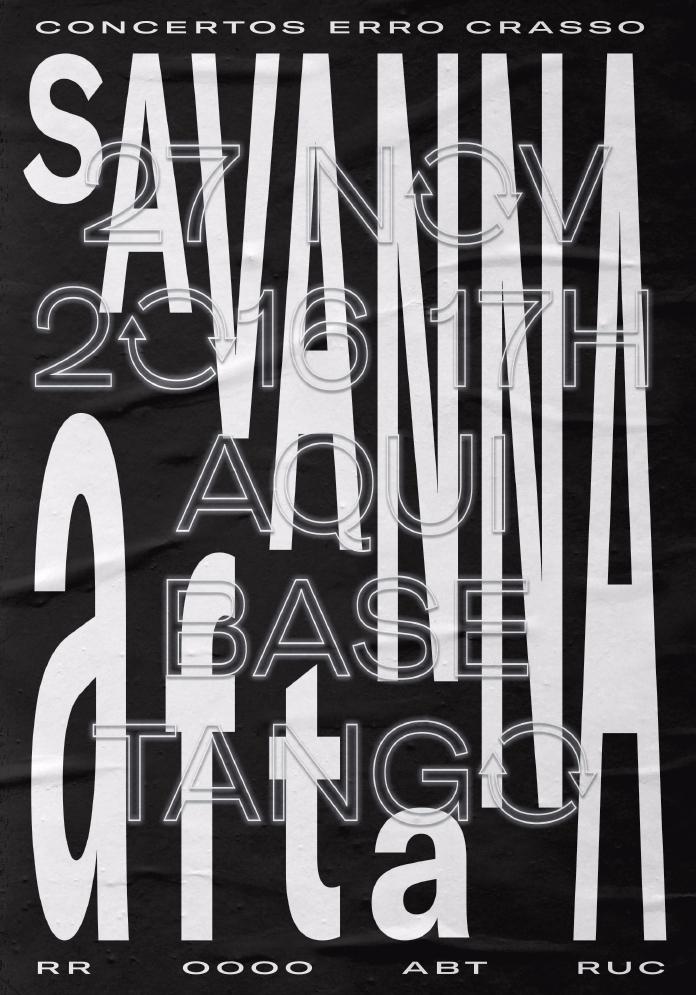 Poster Savanna & Afta, Nove - brunorodrigues   ello