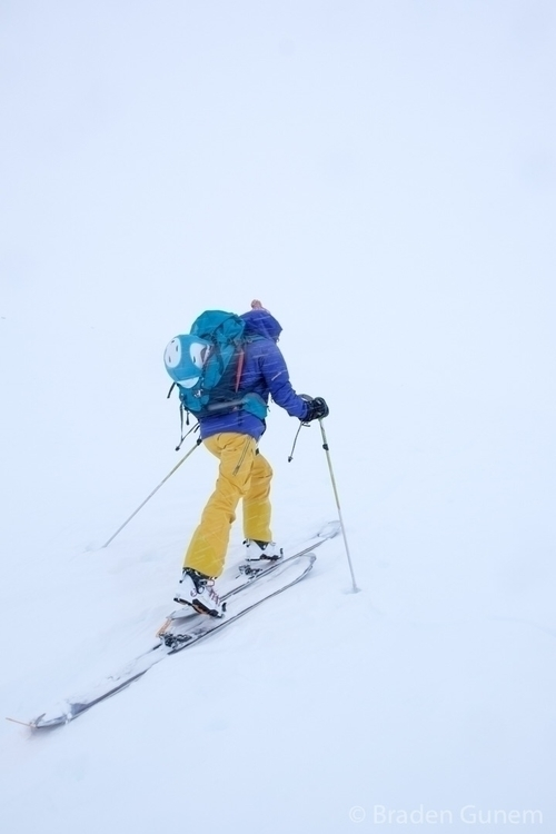 In white room. skiing uphill ba - bradengunem | ello