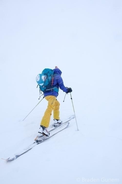 In white room. skiing uphill ba - bradengunem | ello