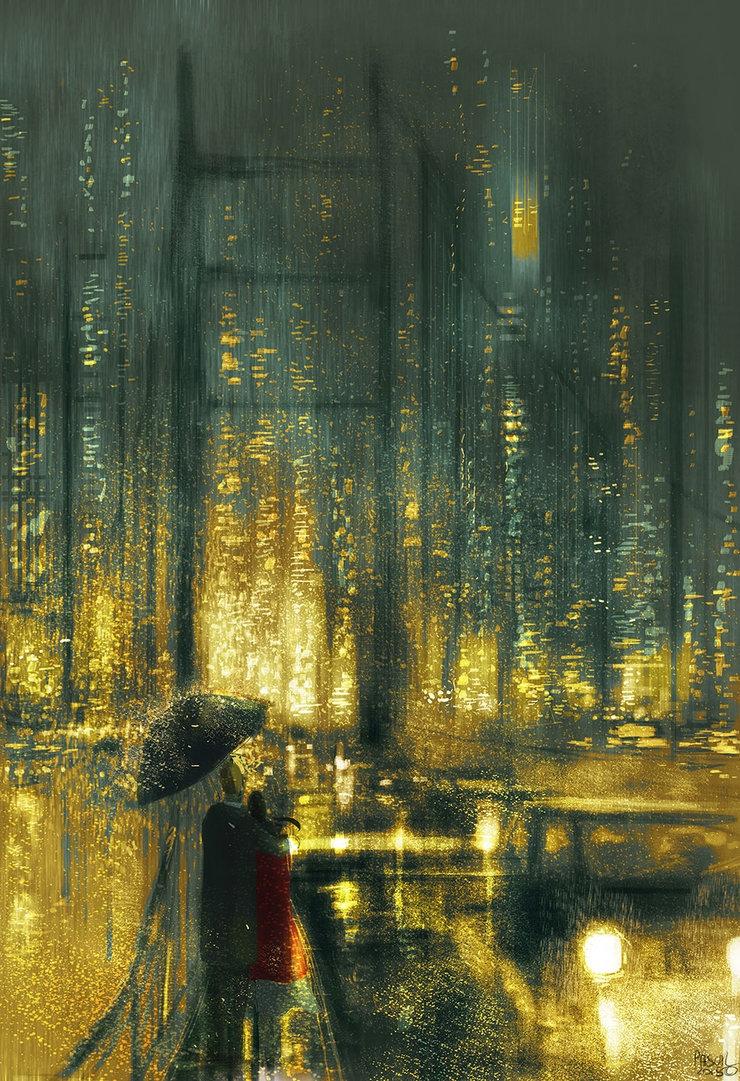 Another rainy night San Francis - pascalcampion | ello