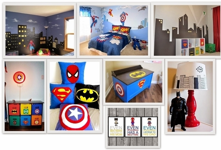 Superhero Bedroom Decor Ideas D - naogreen | ello