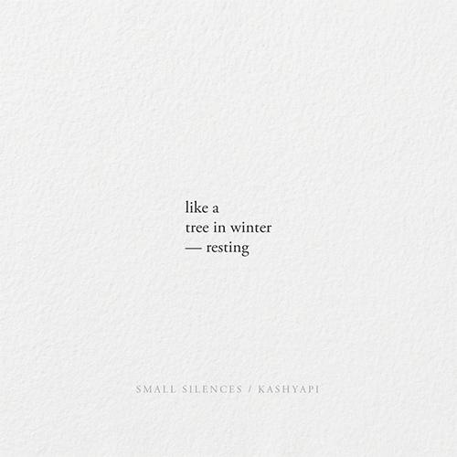 Resting / tree winter — resting - kashyapi | ello