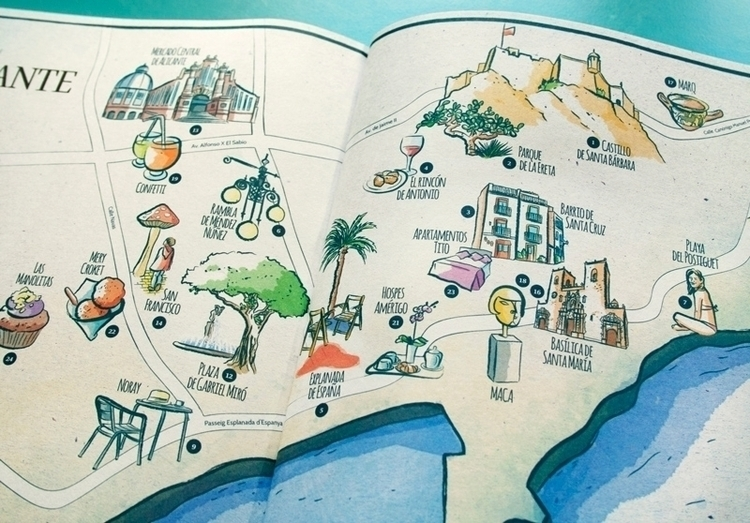 Map Alicante January Issue Ling - mariacastellosolbes | ello