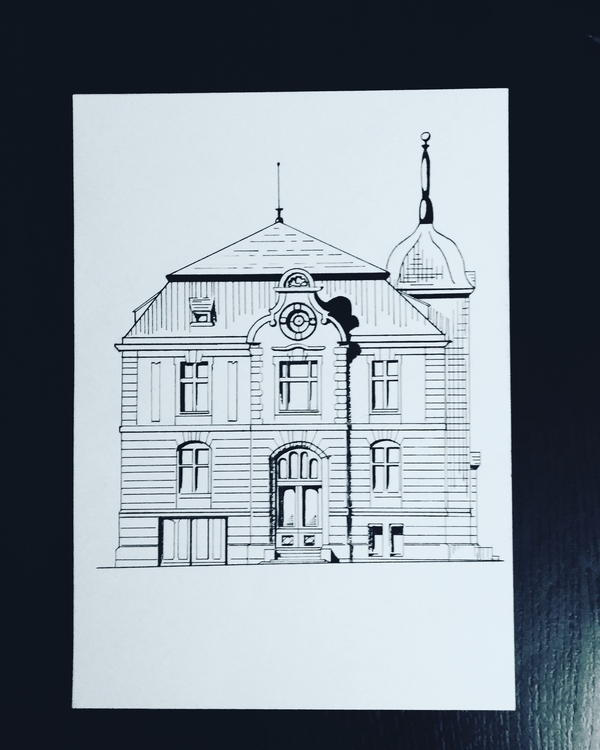 drawing pen black & white - viioiia   ello