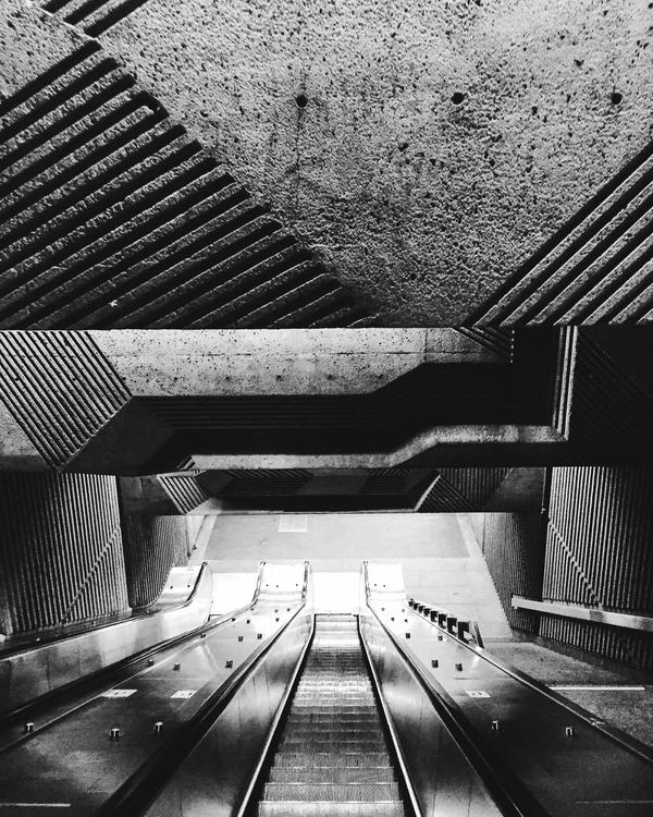 Concrete art underground design - vstg | ello