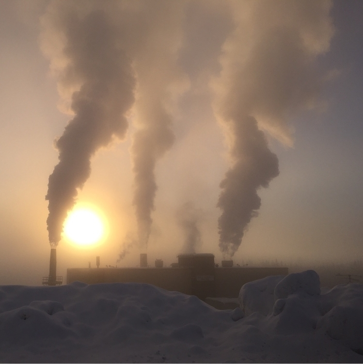 """From Wednesday: """"-40F, Ice Fog  - obscuraworks 