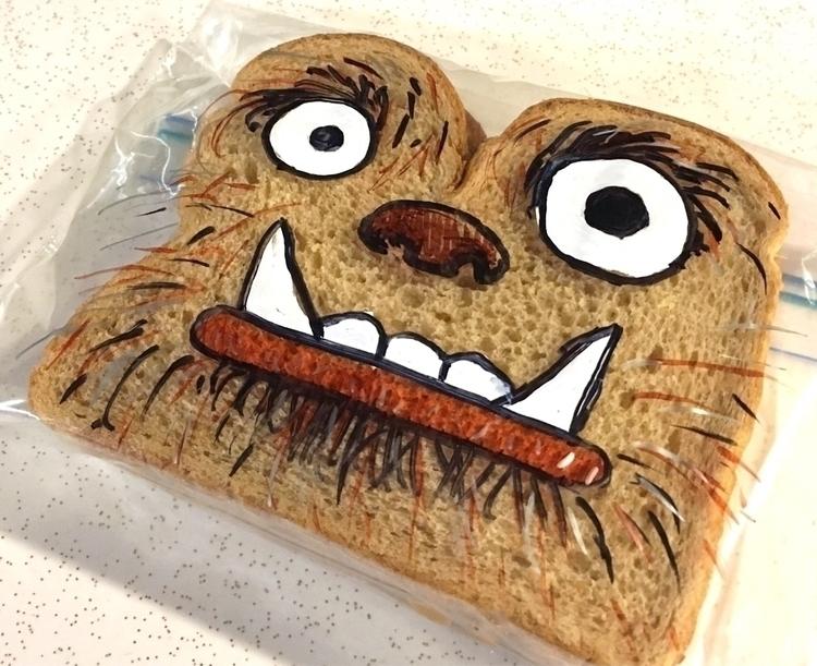 Creature Sharpie SandwichBagArt - drlaferriere | ello