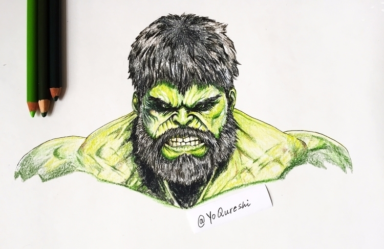 "The Incredibly ""Bearded"" Hulk - - hassanqart 