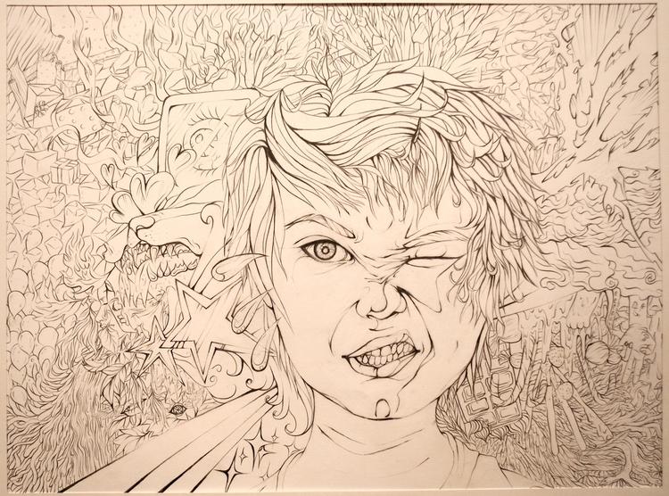 portrait 1 - milkywaymoon | ello