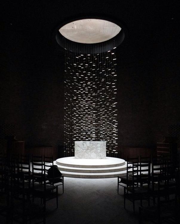 MIT Chapel Saarinen + Bertoia - okamika   ello