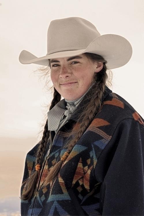 cowgirl western horse colorado  - halliemyhre | ello