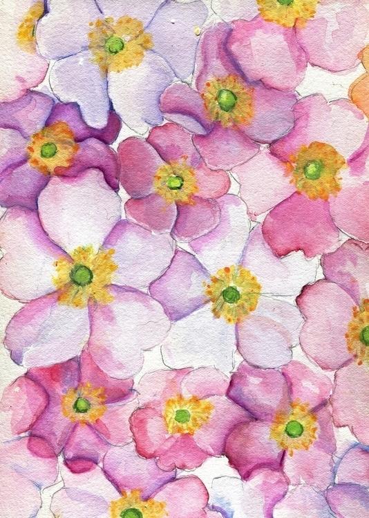 Patchwork Watercolor Gouache Co - havekat   ello