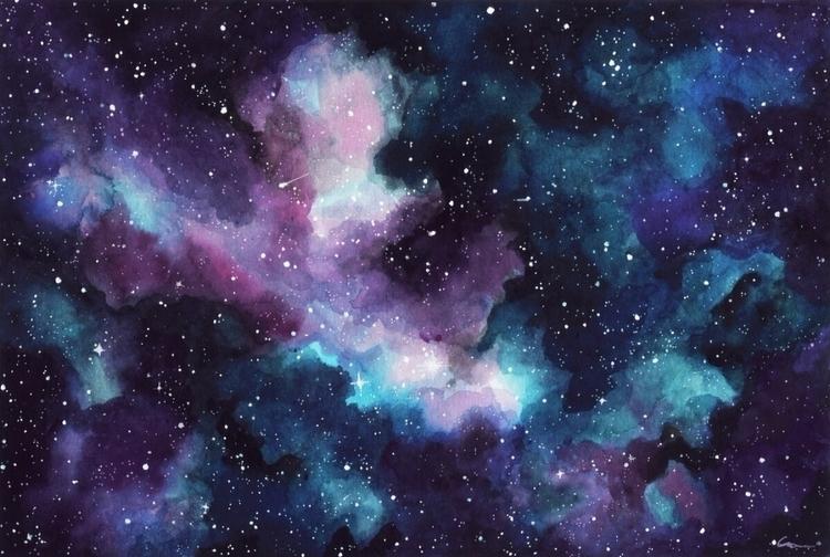 stars? painting - _hellsea | ello