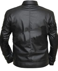 Ghost Black leather Jacket (Fre - fameleathers | ello