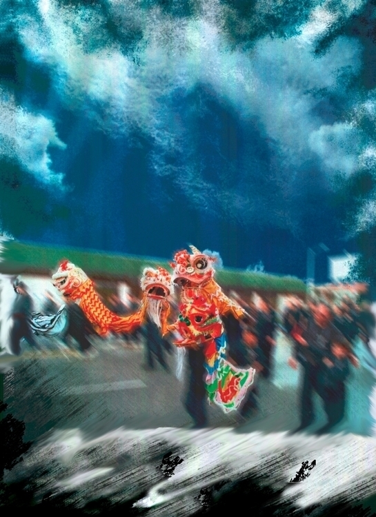 dreaming Gong Xi Fa Cai 恭禧發財 - amymorie | ello