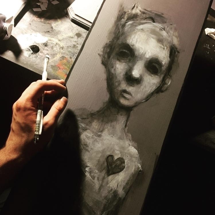 heart heart, cliche. painting l - nichtmehr | ello
