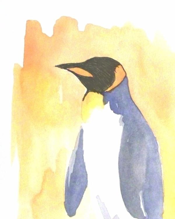 quick penguin today art ink ske - todrawtoday | ello
