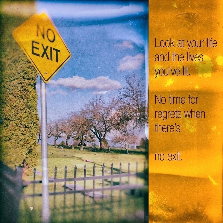 photograph comparing road life  - cliffblank | ello