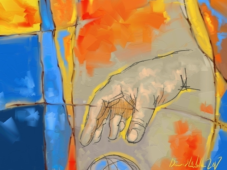 Abstract created artrage art ar - lobber66 | ello