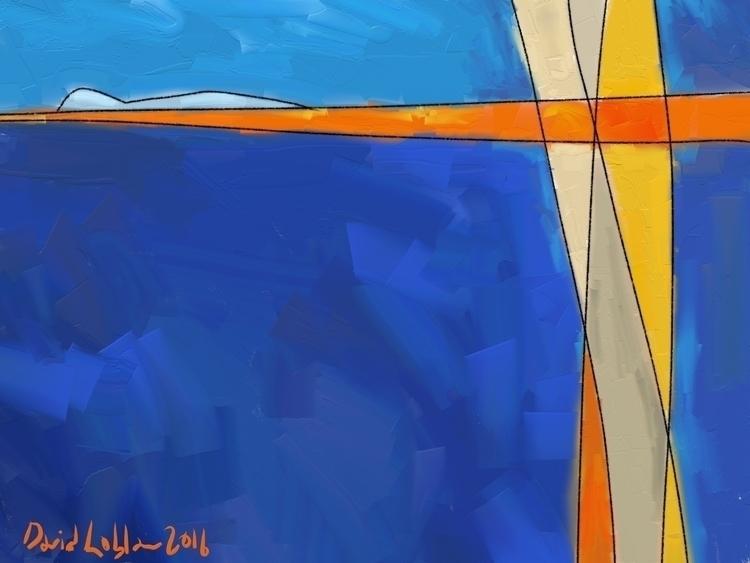 series Abstract landscapes crea - lobber66 | ello
