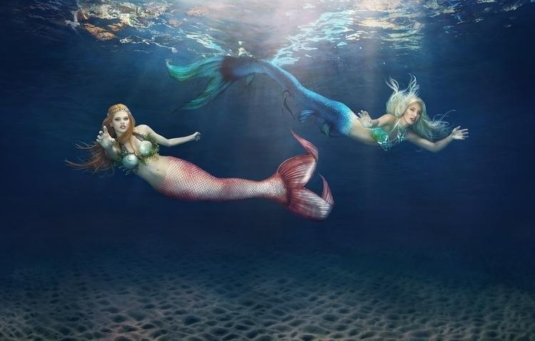 Mermaids Rebecca Handler underw - rebeccahandler | ello