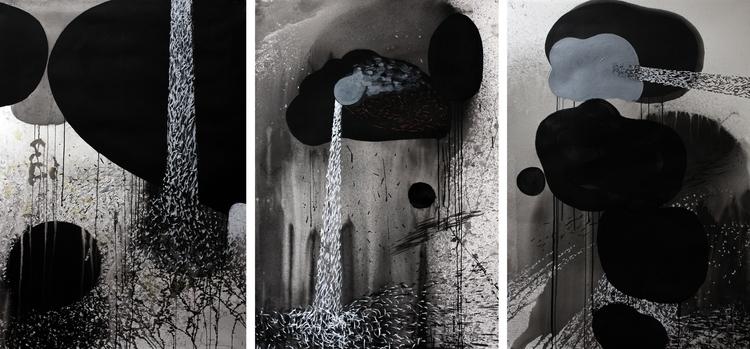 "Source"" triptych January 27th.  - lanceolsen | ello"