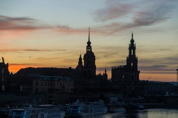 Dresden Sunset. travel - jhollaholla | ello
