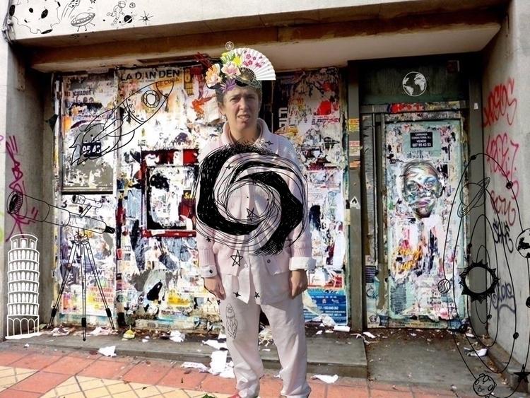 digicollage artwork paisajeurba - ki_furallefalle | ello
