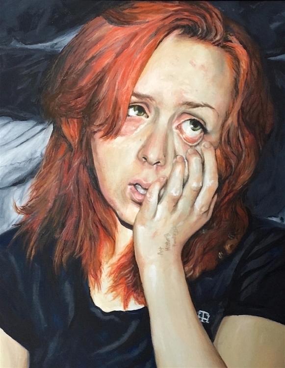 portrait. SelfPortrait Painting - kristenthornhill | ello