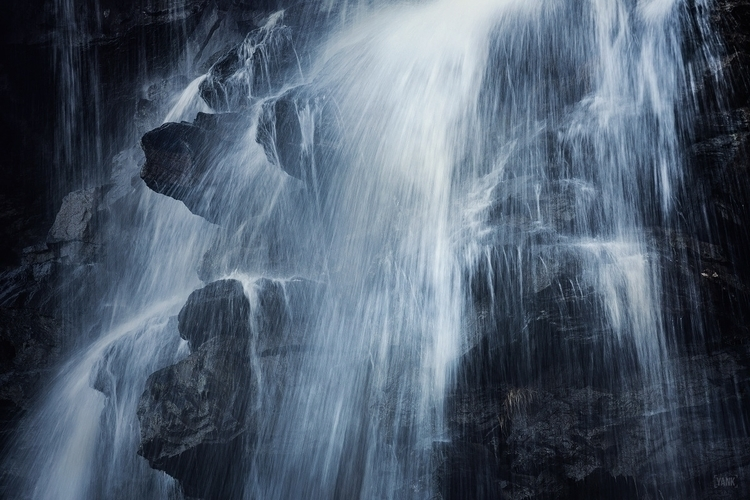 """Anarchik"" water waterfall alps - yank- 