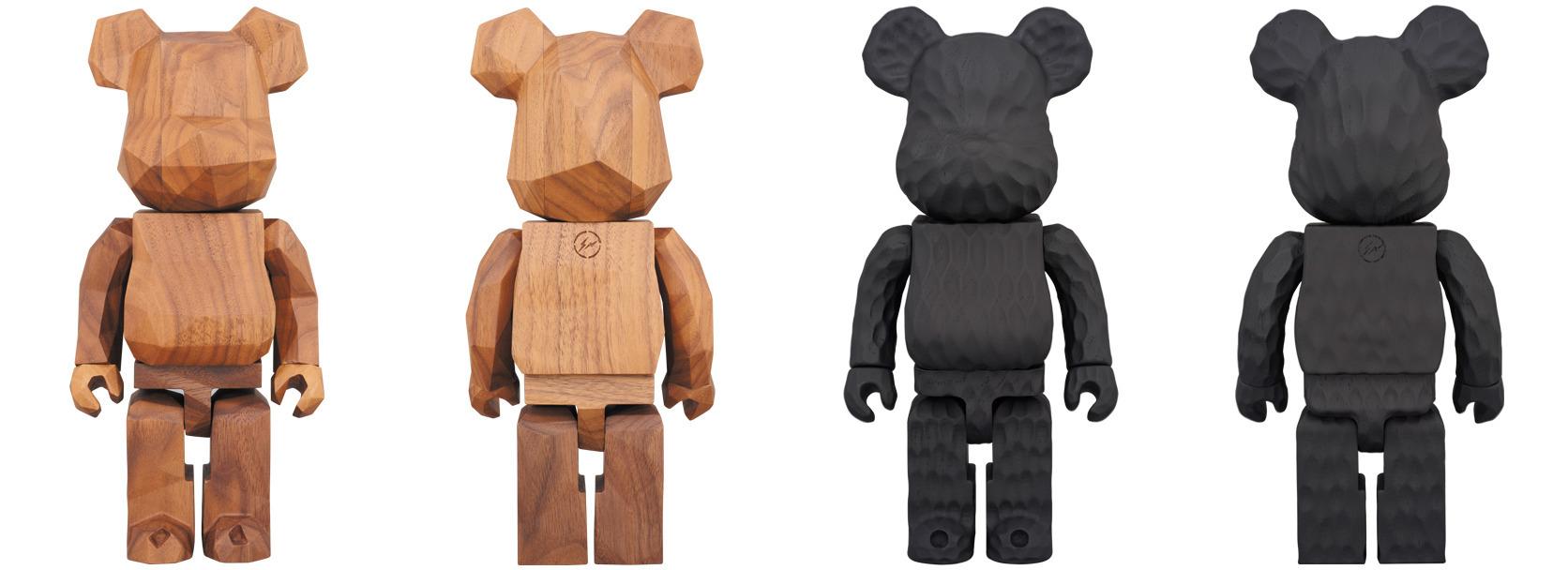 Love wood Bearbricks Fragment D - lucian | ello