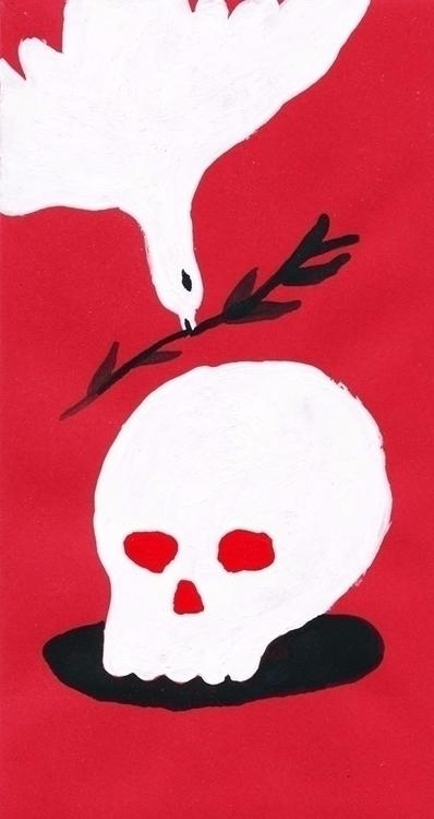 painting illustration - vryaznorange | ello