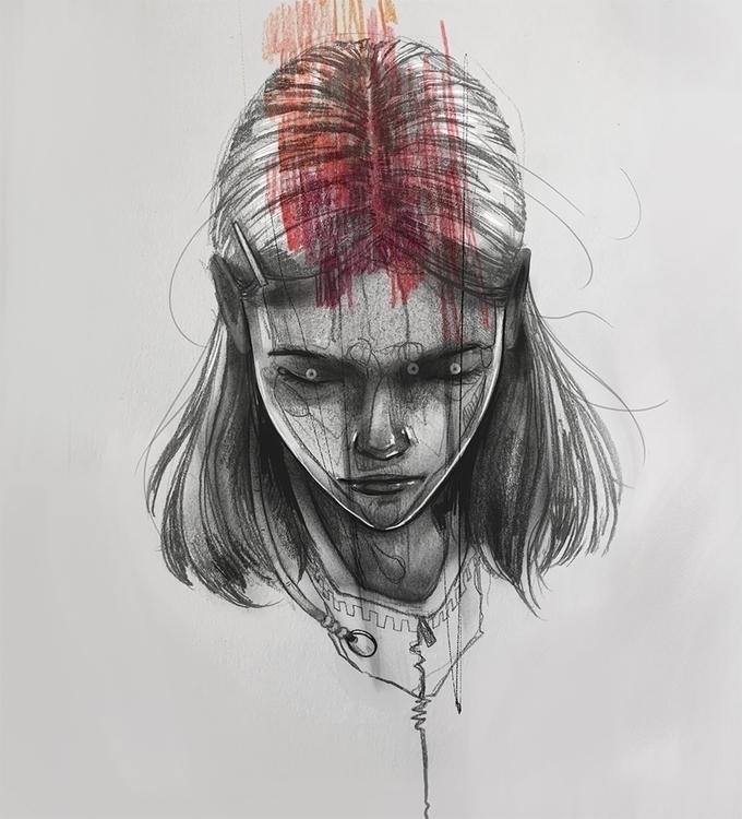 bled illustration sketchbook dr - lupetto | ello